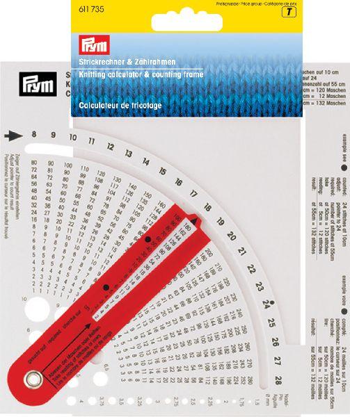 Strikke kalkulator fra prym fra N/A på elmelydesign.dk