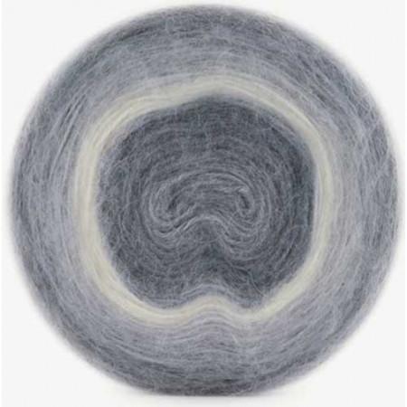 Image of   Angora Cake mohair garn med lang farveskift 200 gram 614