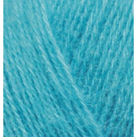 Image of   Angora Gold mohair garn 100 gram Ashy Turquoise 164