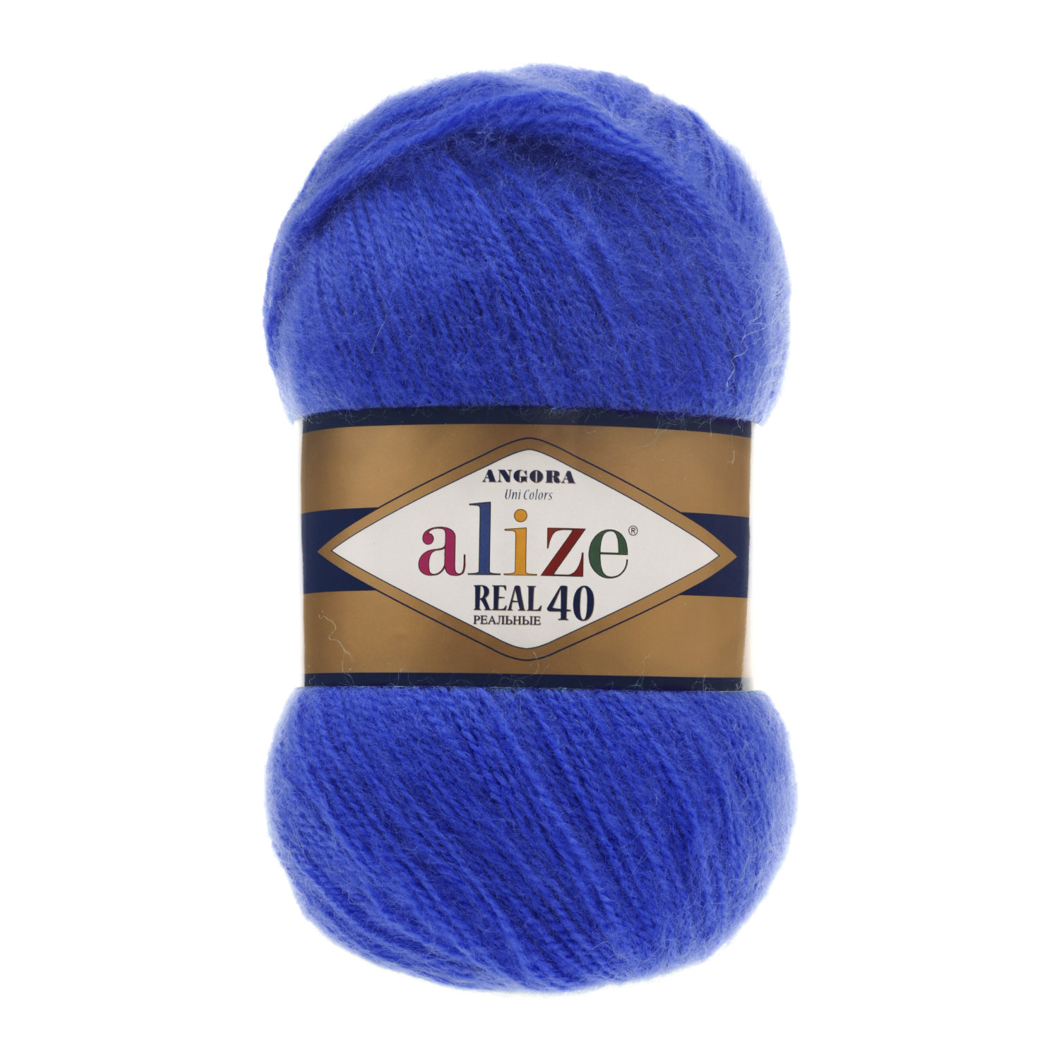Image of   Angora real 40 mohair garn 100 gram Royal Blue 141