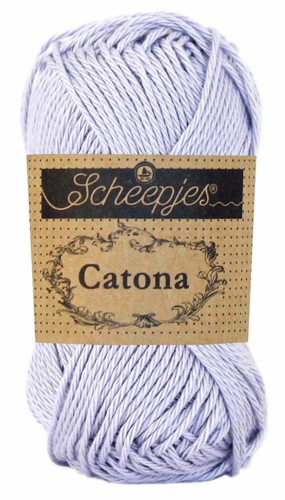 N/A Catona bomuldsgarn 25 g lilac mist 399 fra elmelydesign.dk