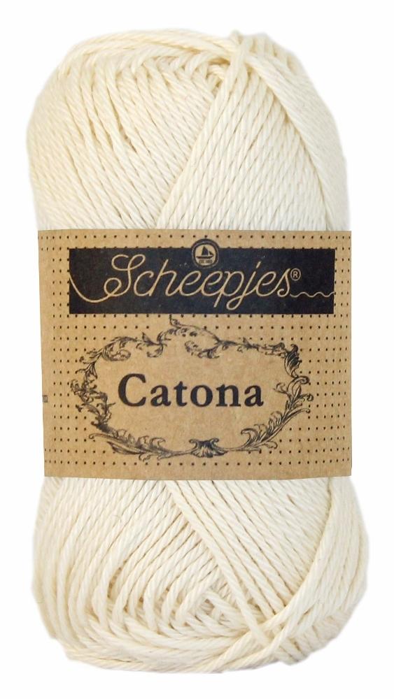 N/A – Catona bomuldsgarn 25 g old lace 130 på elmelydesign.dk