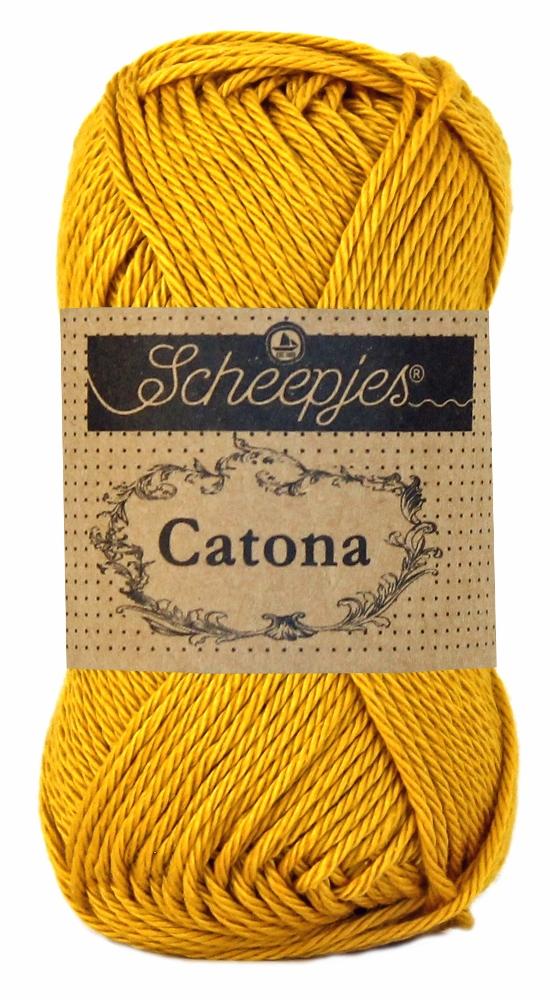 Image of   Scheepjes Catona bomuldsgarn 25 g Saffron 249