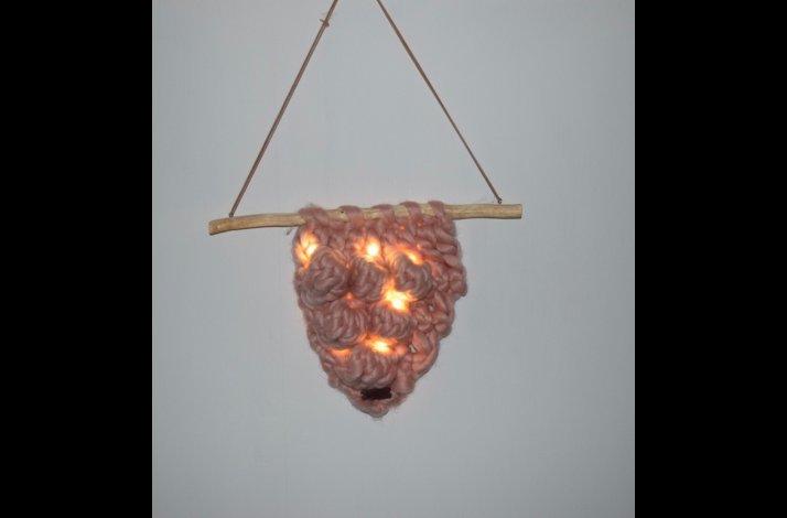 Hæklekit Chunky ophæng med lys