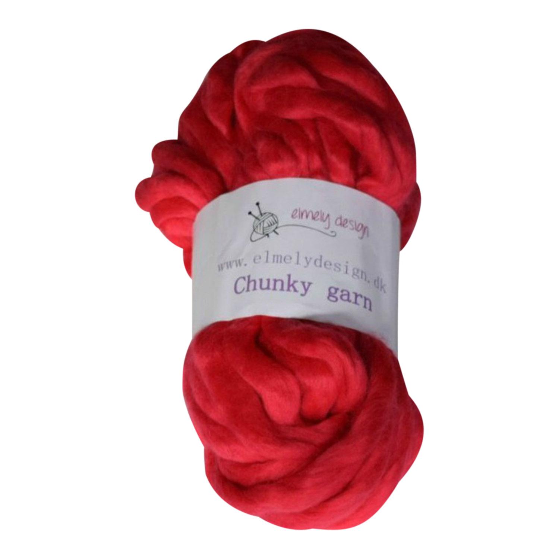 Chunky mega garn 40 cm Pink
