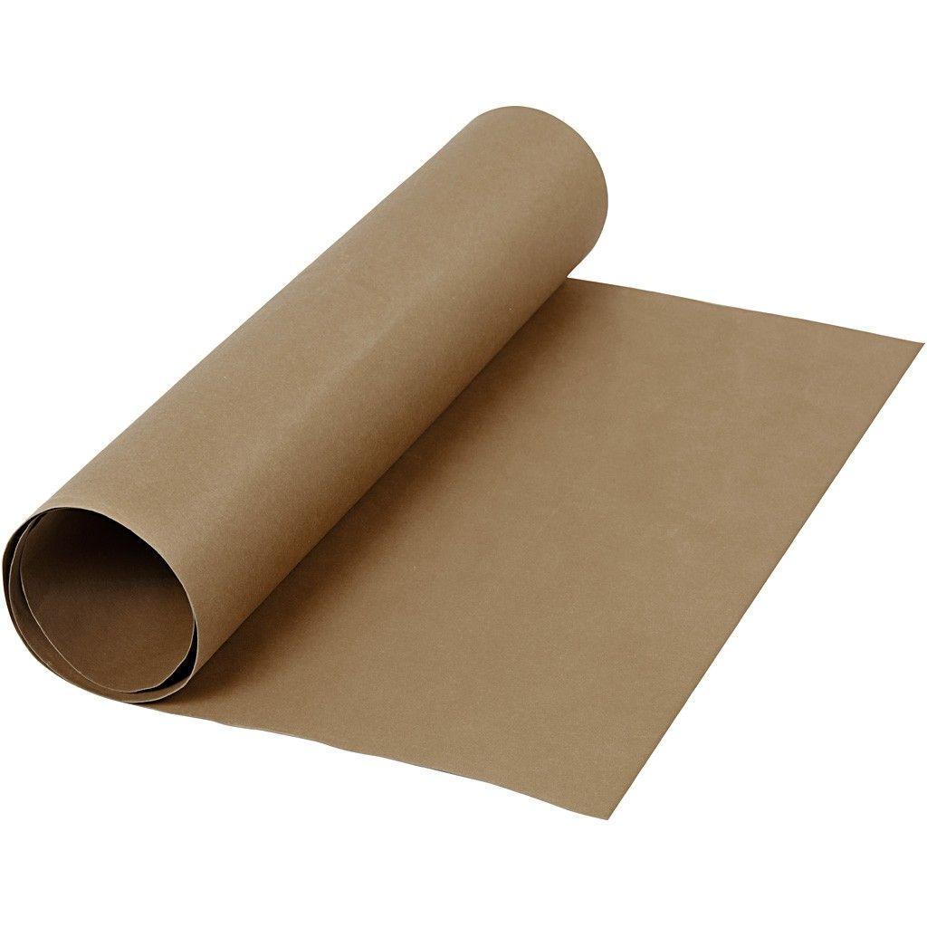 l derpapir b 50 cm tykkelse 0 55 mm m rk brun 1m l derpapir og produkter heraf elmely. Black Bedroom Furniture Sets. Home Design Ideas