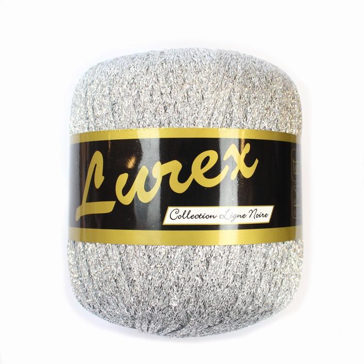 Lurex Sølv garn fra Lammy