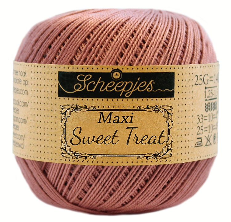 Image of   Scheepjes Maxi Sweet Treat / Maxi Bonbon Antique Rose 776