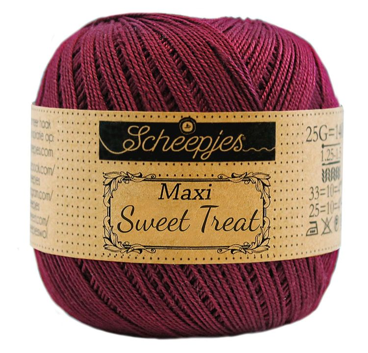 Image of   Scheepjes Maxi Sweet Treat / Maxi Bonbon Bordeau 750