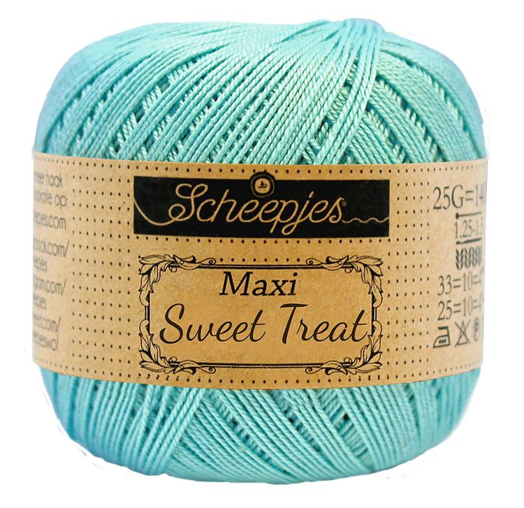 Image of   Scheepjes Maxi Sweet Treat / Maxi Bonbon Cyan 397