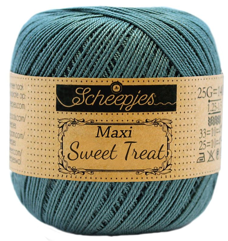 Image of   Scheepjes Maxi Sweet Treat / Maxi Bonbon Deep Ocean Green 391