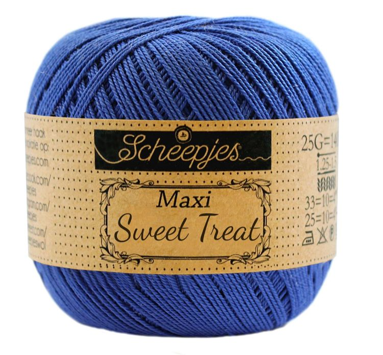 Image of   Scheepjes Maxi Sweet Treat / Maxi Bonbon Electric Blue 201