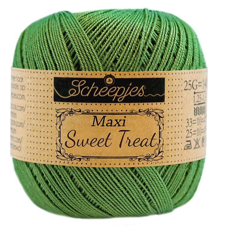 Image of   Scheepjes Maxi Sweet Treat / Maxi Bonbon Forest Green 412