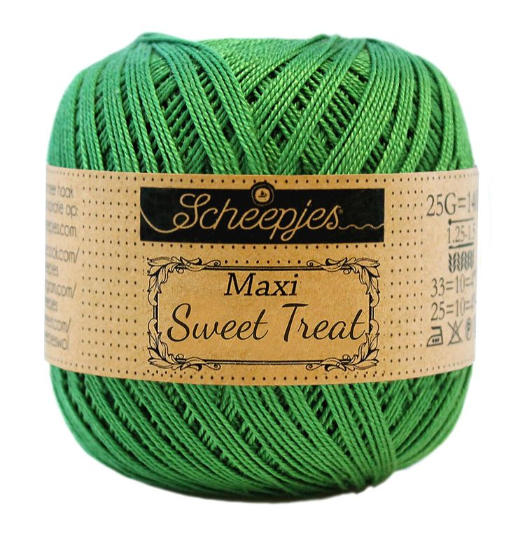 Image of   Scheepjes Maxi Sweet Treat / Maxi Bonbon Grass Green 606