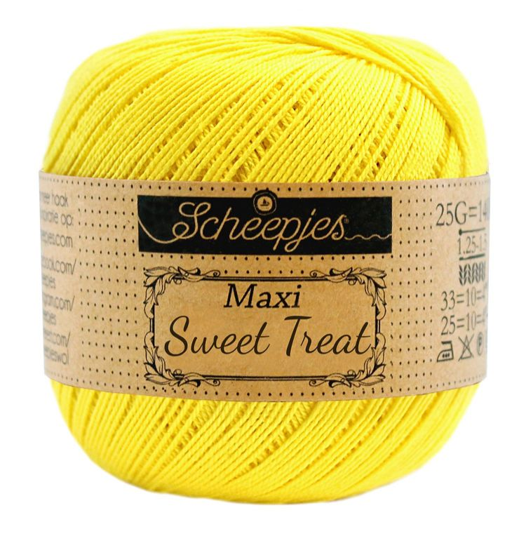 Image of   Scheepjes Maxi Sweet Treat / Maxi Bonbon Lemon 280