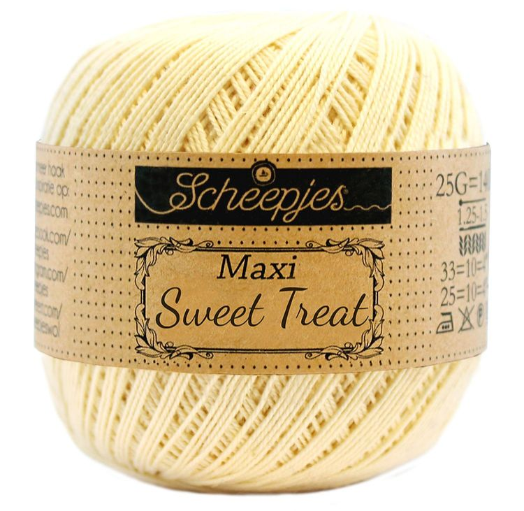 Image of   Scheepjes Maxi Sweet Treat / Maxi Bonbon Lemonade 403