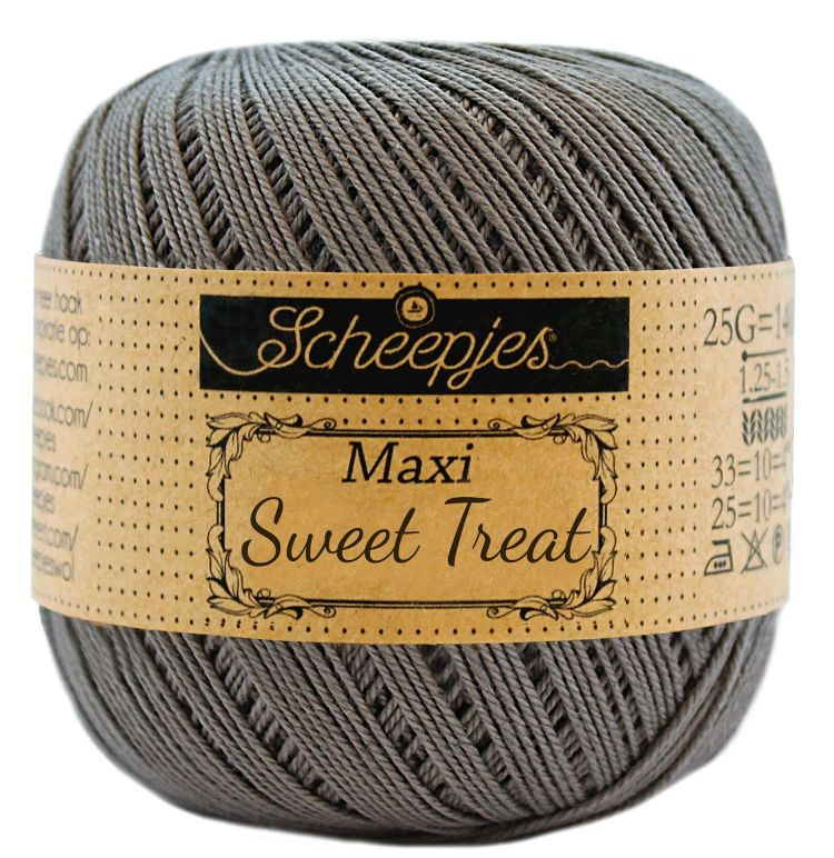Image of   Scheepjes Maxi Sweet Treat / Maxi Bonbon Metal Gray 242
