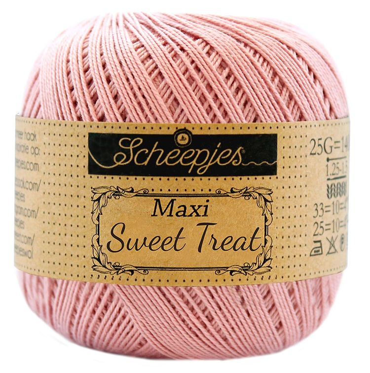 Image of   Scheepjes Maxi Sweet Treat / Maxi Bonbon Old Rose 408