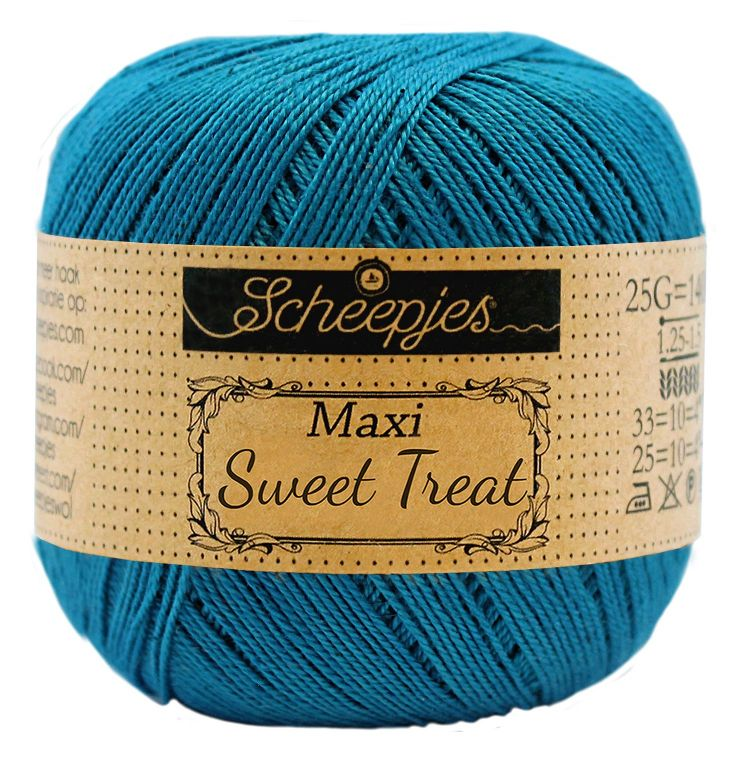 Image of   Scheepjes Maxi Sweet Treat / Maxi Bonbon Petrol Blue 400