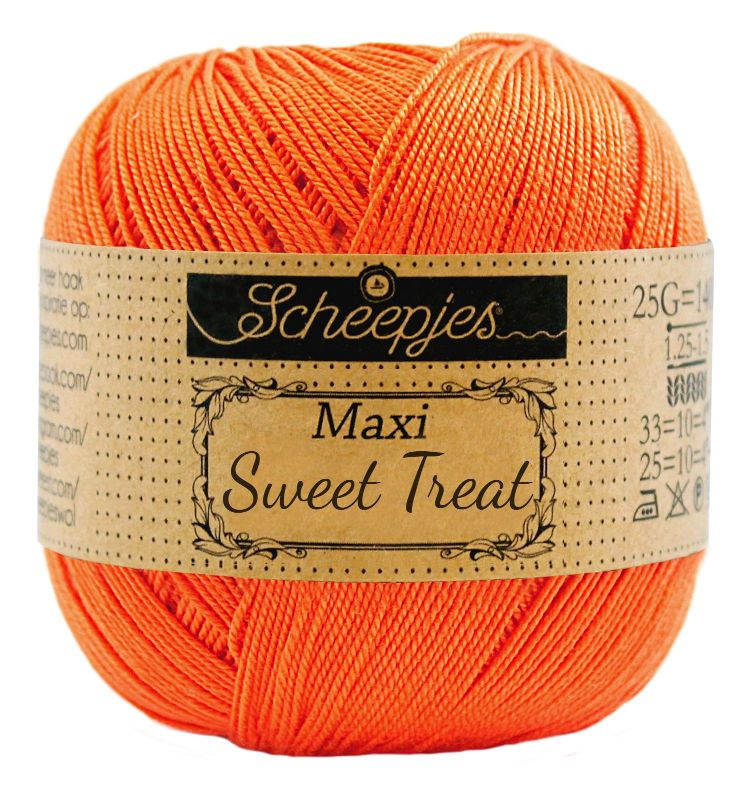 Image of   Scheepjes Maxi Sweet Treat / Maxi Bonbon Royal Orange 189