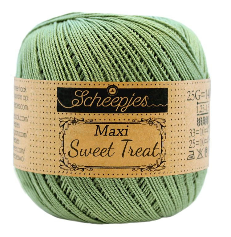 Image of   Scheepjes Maxi Sweet Treat / Maxi Bonbon Sage Green 212