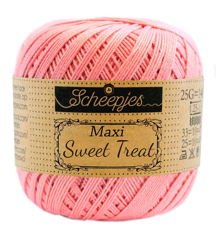 Image of   Scheepjes Maxi Sweet Treat / Maxi Bonbon Soft Rose 409