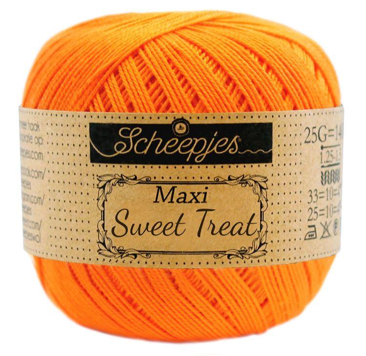Image of   Scheepjes Maxi Sweet Treat / Maxi Bonbon Tangerine 281