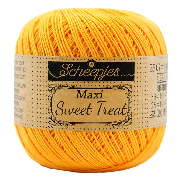 Image of   Scheepjes Maxi Sweet Treat / Maxi Bonbon Yellow Gold 208