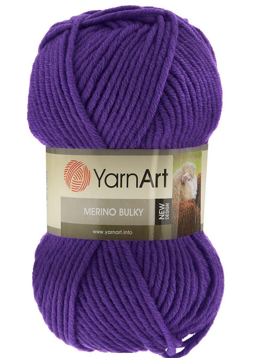 Merino Bulky 100 gram violet 9561