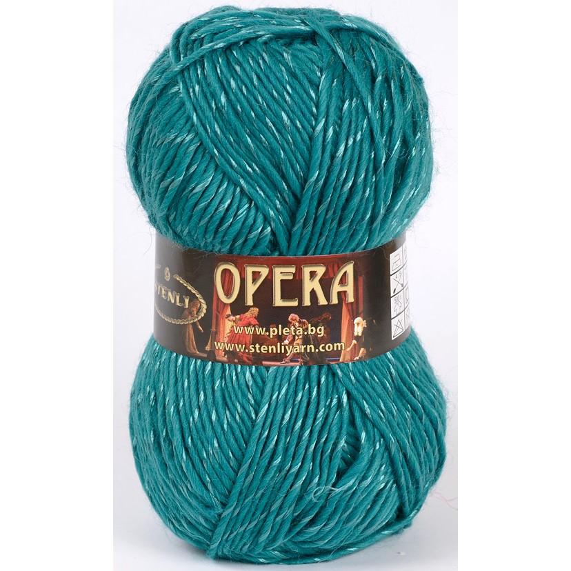 Image of Opera turkisgrøn 34