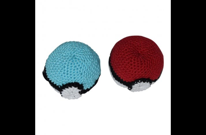 Hækleopskrift Pokemon ball