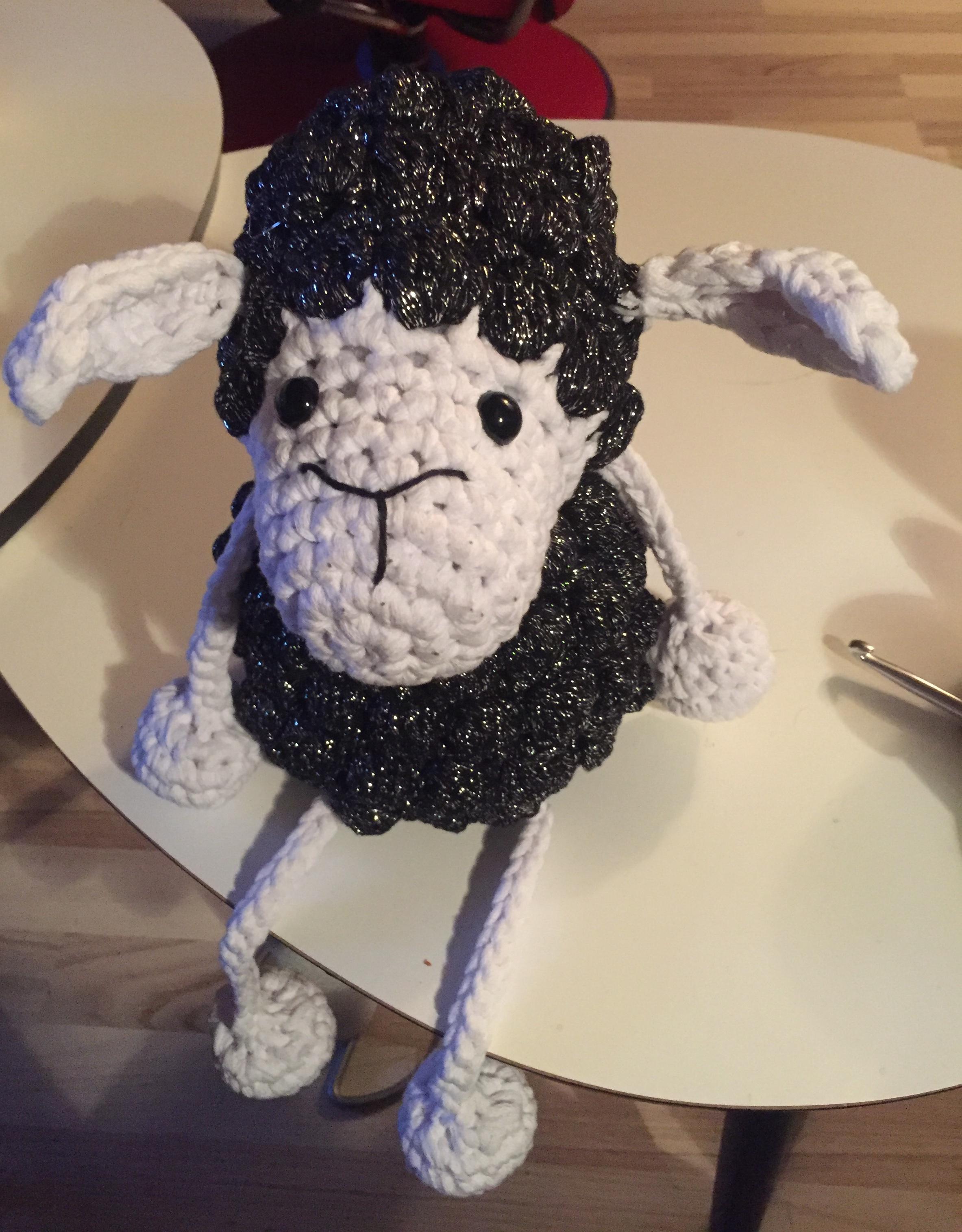 Image of Garnpakke fåret Kroelle i xl uden opskrift