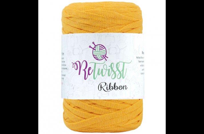 Retwisst Ribbon Garn Gul 25