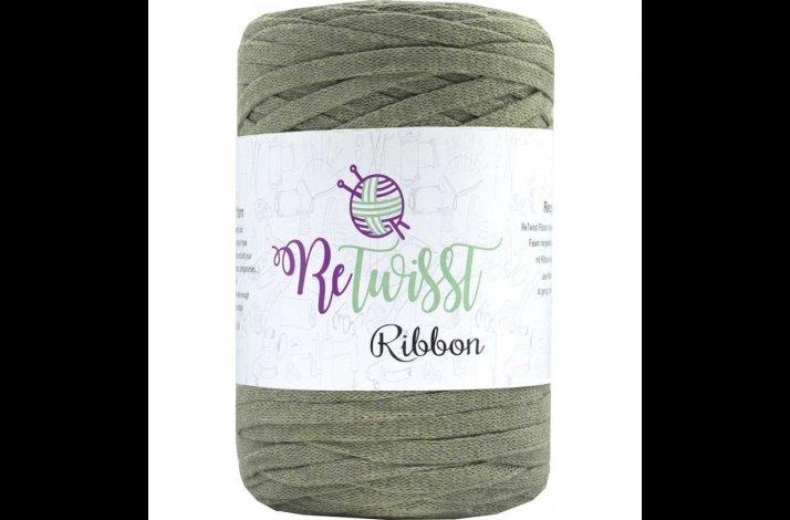 Retwisst Ribbon Garn Khaki 16