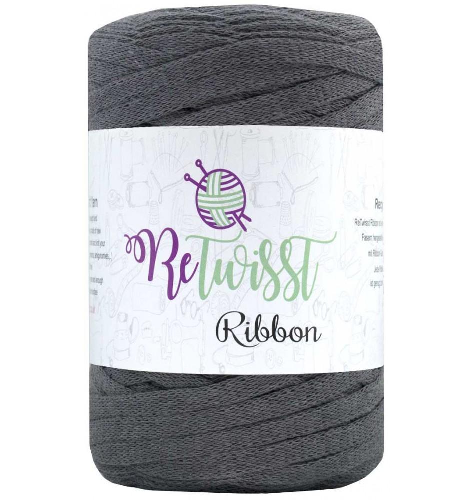 Image of   Retwisst Ribbon Garn Koksgrå 06