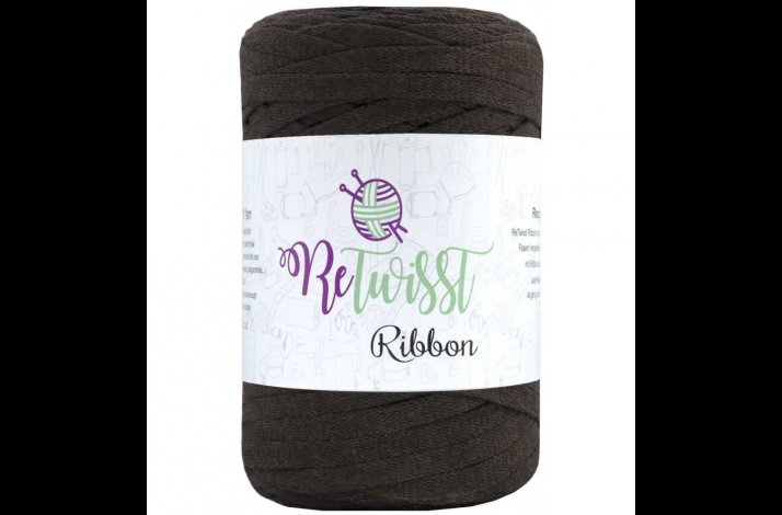 Retwisst Ribbon Garn Medium Brun 11