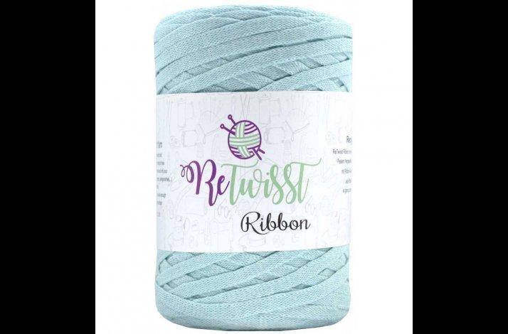 Retwisst Ribbon Garn Mint Grøn 13