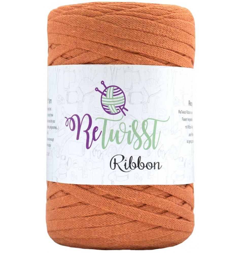 Retwisst Ribbon Garn Orange 26