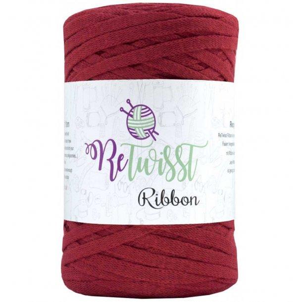 Retwisst Ribbon Garn Rød 29