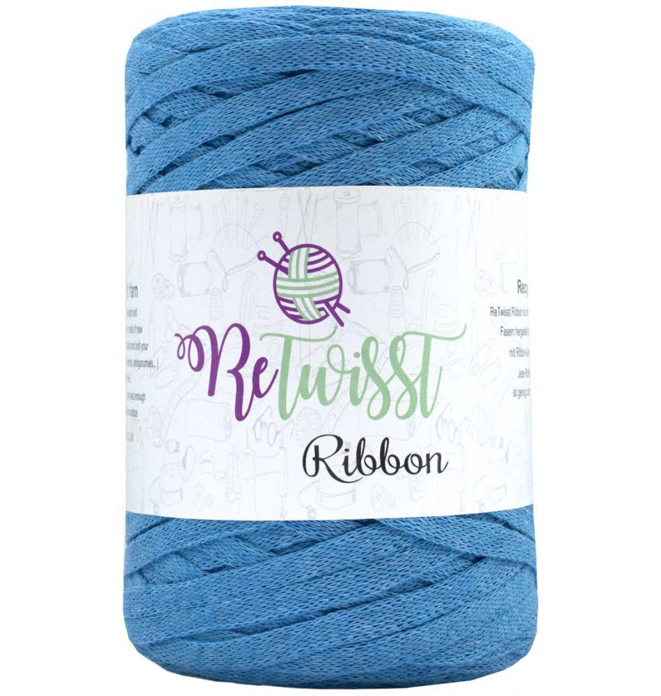 Retwisst Ribbon Garn Turkis 18