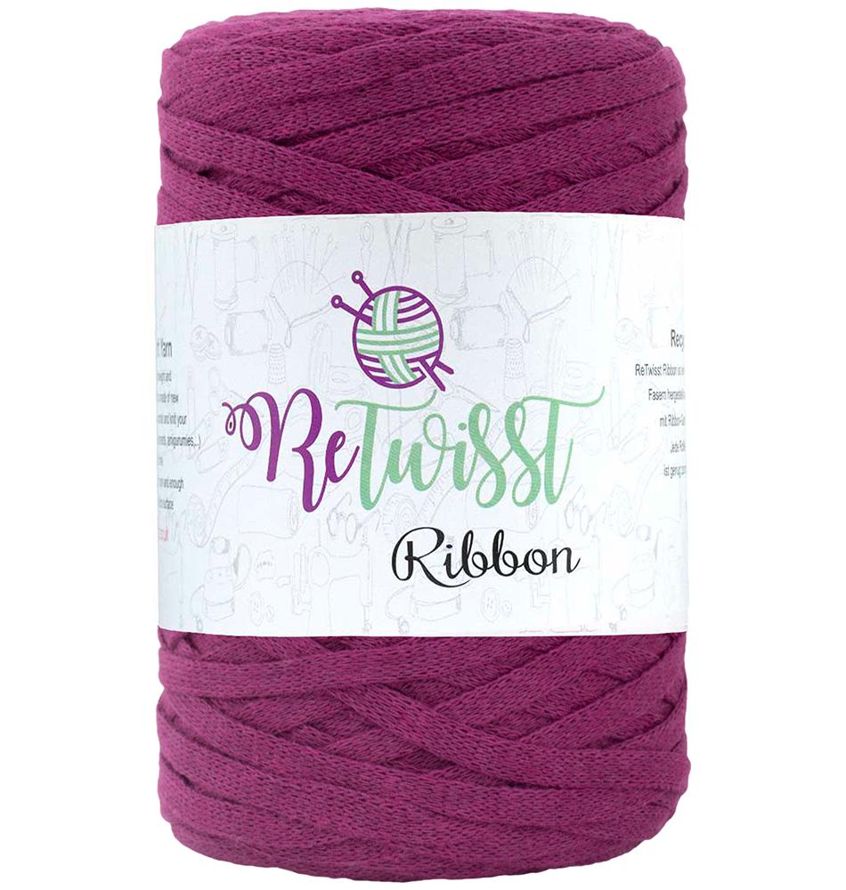 Retwisst Ribbon Garn Violet 28