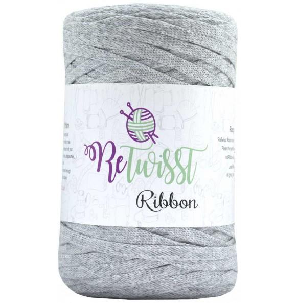Image of   Retwisst Ribbon Garn Lysegrå 04