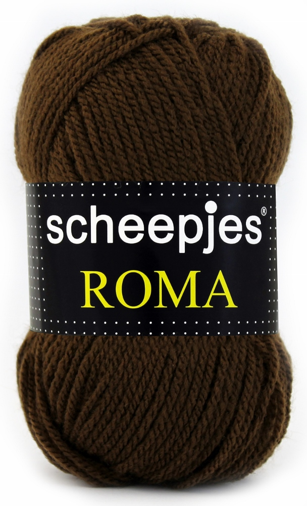 N/A – Scheepjeswol roma scheepjes roma brun fra elmelydesign.dk