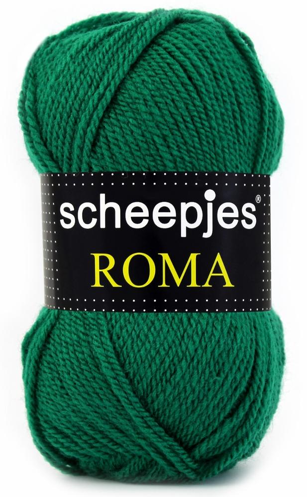Scheepjeswol roma scheepjes roma grøn fra N/A fra elmelydesign.dk