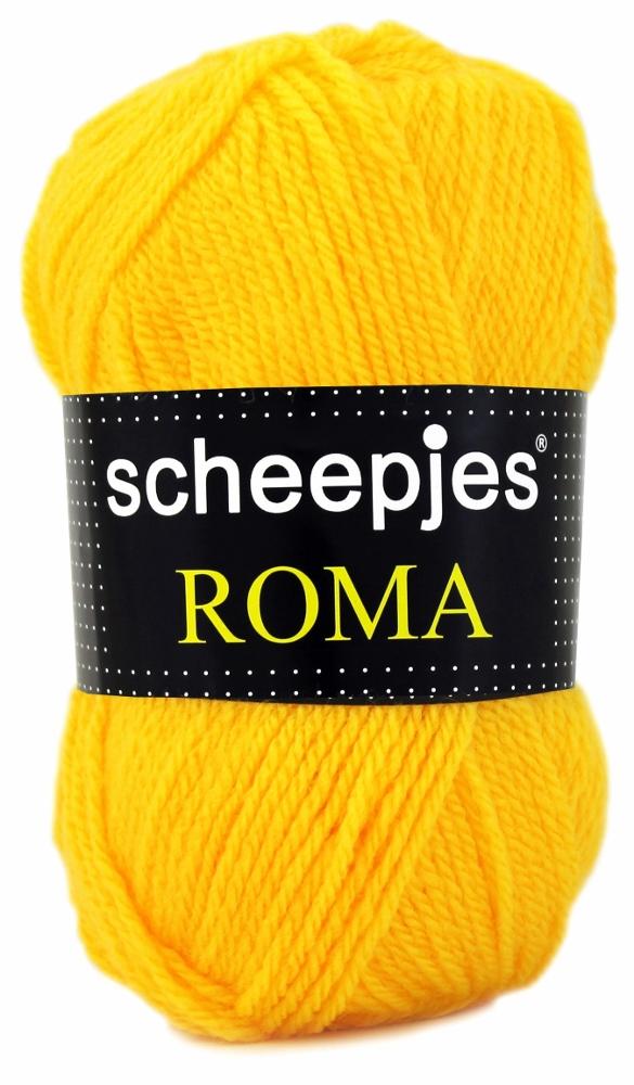 N/A Scheepjeswol roma scheepjes roma gul fra elmelydesign.dk