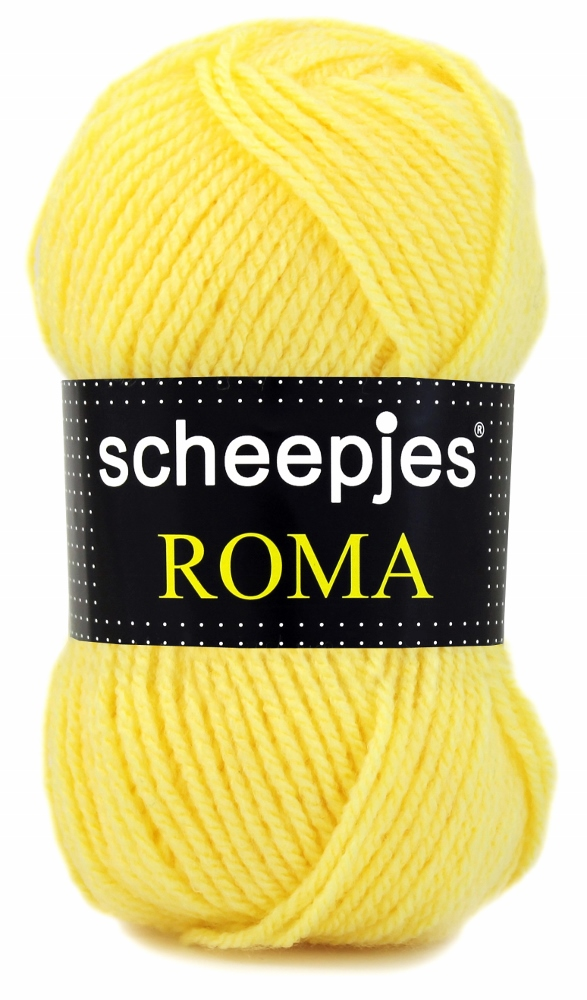 N/A – Scheepjeswol roma scheepjes roma lyse gul fra elmelydesign.dk