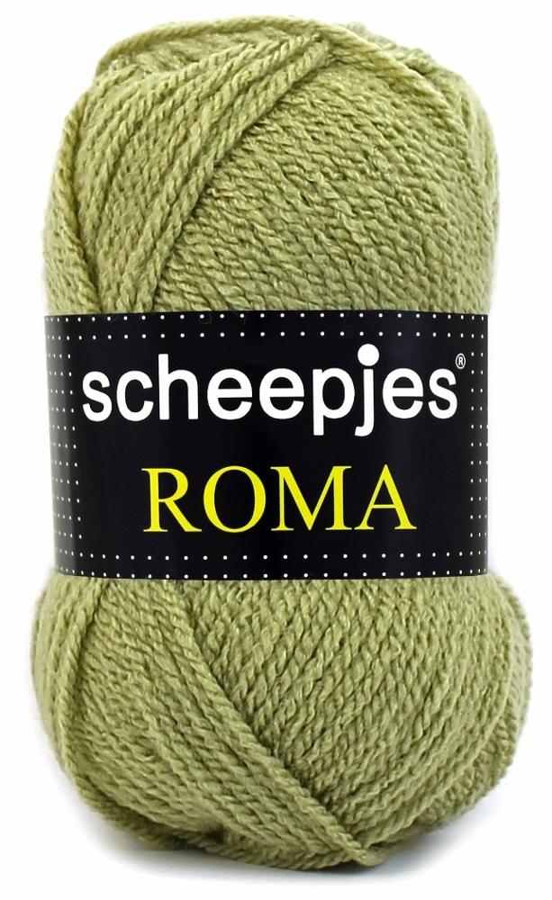 Scheepjeswol roma scheepjes roma mos grøn fra N/A på elmelydesign.dk