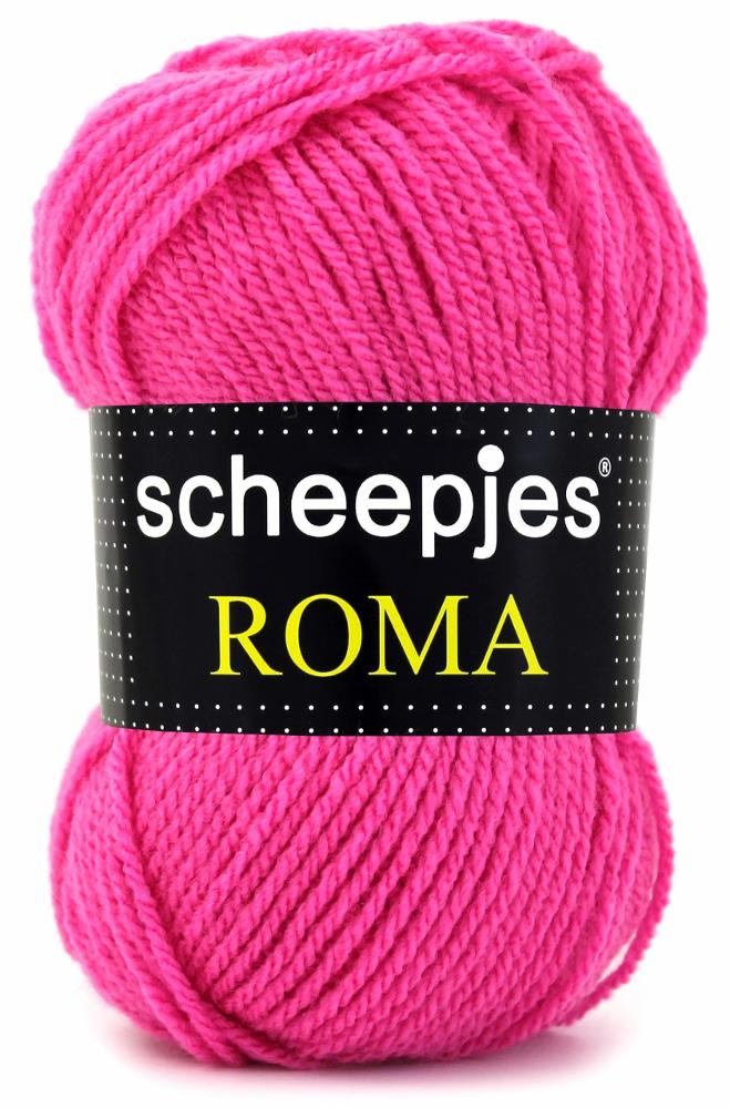 N/A Scheepjeswol roma scheepjes roma pink fra elmelydesign.dk