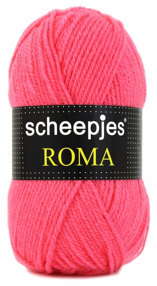 N/A Scheepjeswol roma scheepjes roma stærk lyse rød på elmelydesign.dk