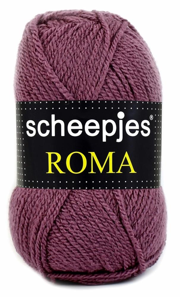 Scheepjes Roma Støvet auberginee